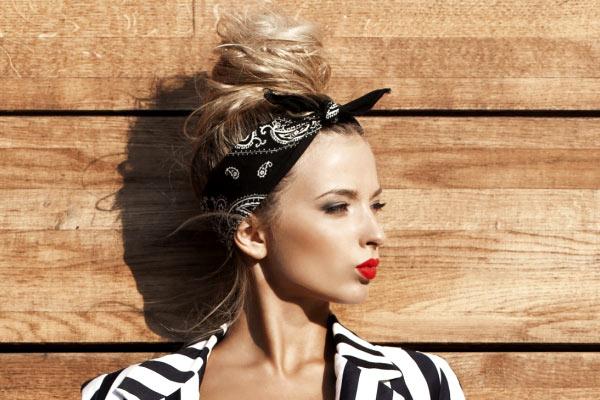 Cool 3 Retro Hairstyles With A Bandana Schematic Wiring Diagrams Phreekkolirunnerswayorg
