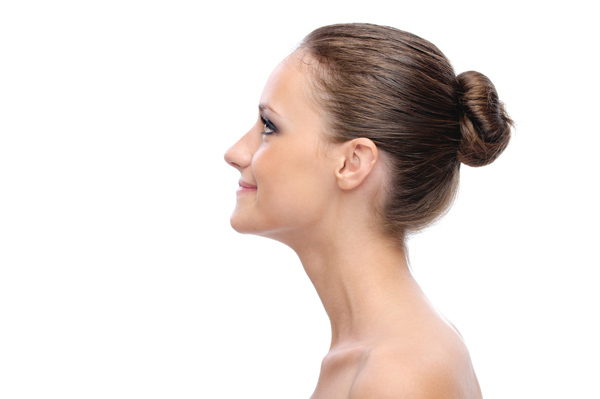 hairstyles 2012 hair bun side view