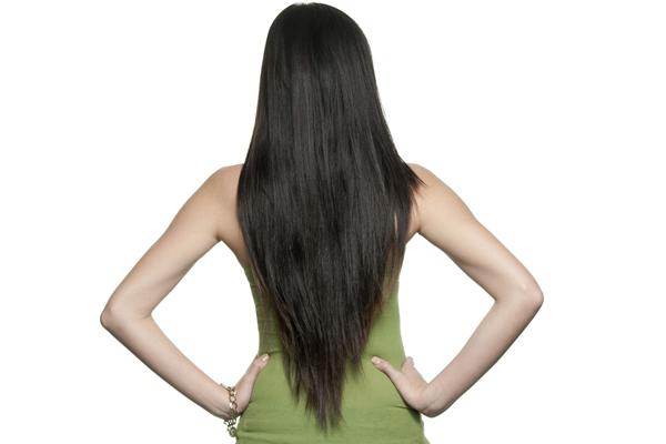 U shaped haircut with layers