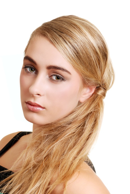 Medium Hairstyles Haircuts Loose Ponytail Hairstyles