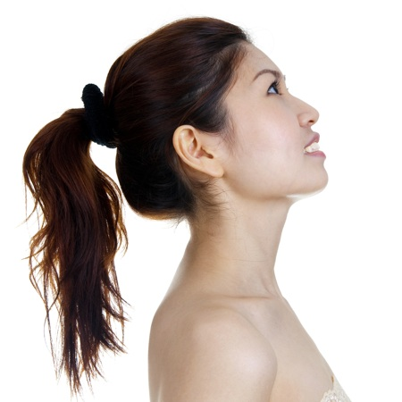 ponytail hairstyle high