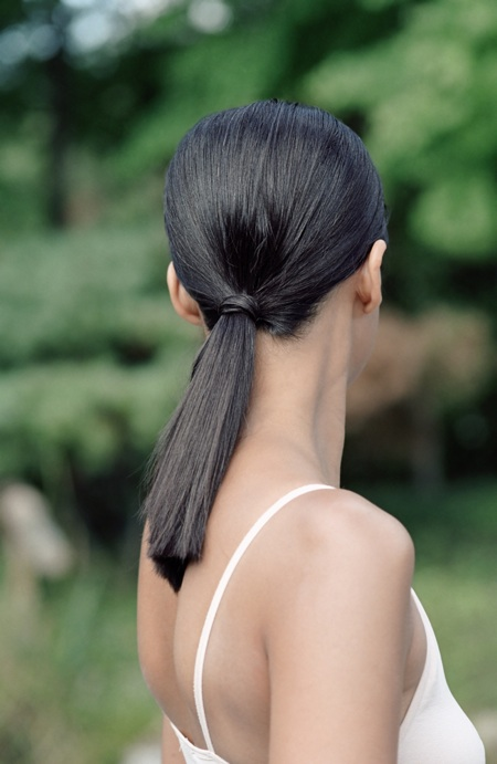 ponytail hairstyle low