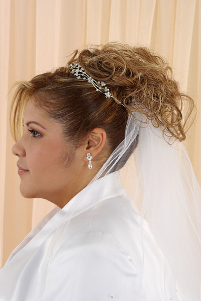 Bridal Hairstyle Images For Round Face : Updo check out lots more bridal and wedding pictures hairstyles