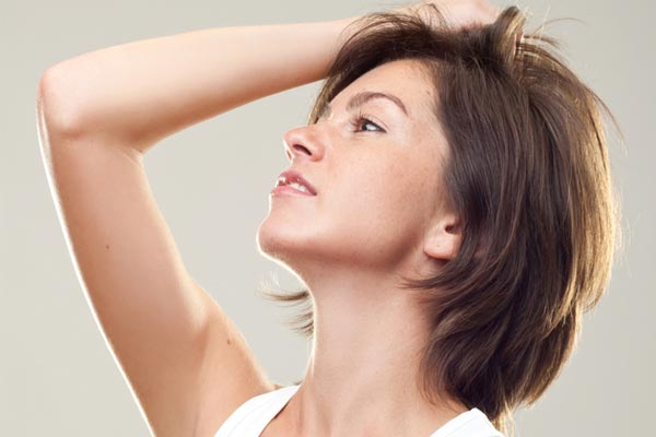 Fine Cute Short Hairstyle For Thick Hair Hairstyles For Women Draintrainus