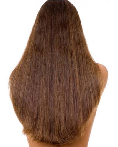 long hairstyles wide U shaped back