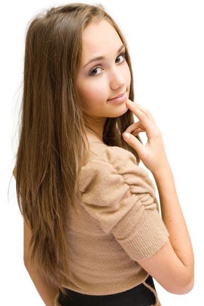 V Layered Haircut Long Hair