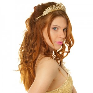 prom-half-up-hairstyle-tiara