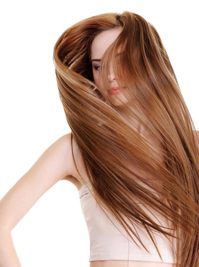very long hair with angled layers