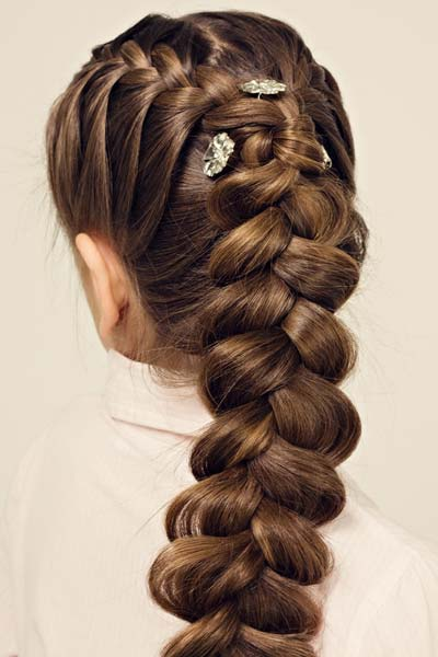 double french dutch braid