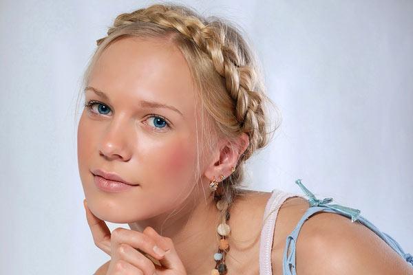 greek goddess braid