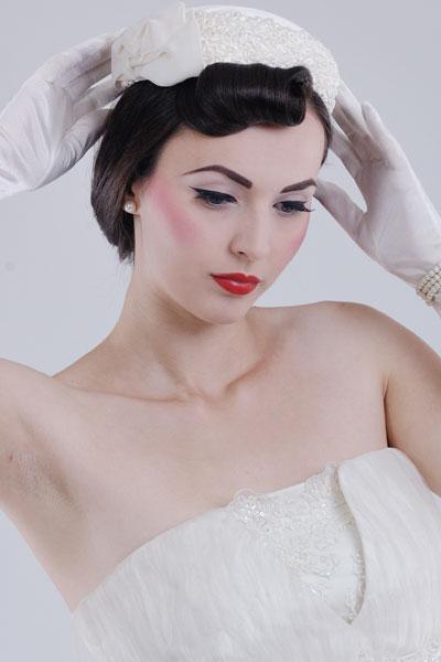Incredible Old Hollywood Glamour Vintage Wedding Hairstyles Short Hairstyles Gunalazisus