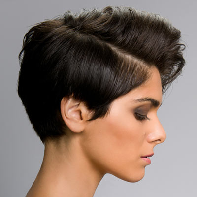 Pixie Cut Long in Front Short in Back