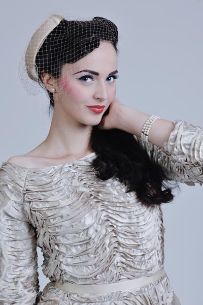 Old Hollywood Glamour Vintage Wedding Hairstyles
