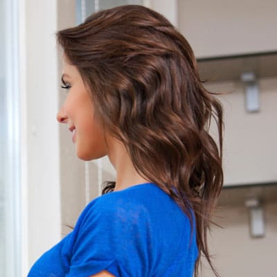 Shoulder Legnth Wavy Hairstyles