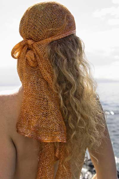 bandana head wrap