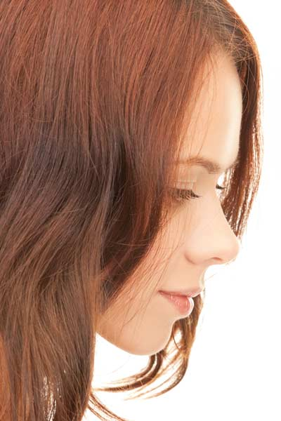 chin length bangs