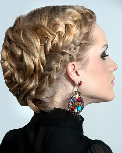 curly fade hairstyle : Short Hairstyles For Double Crowns hairstylegalleries.com