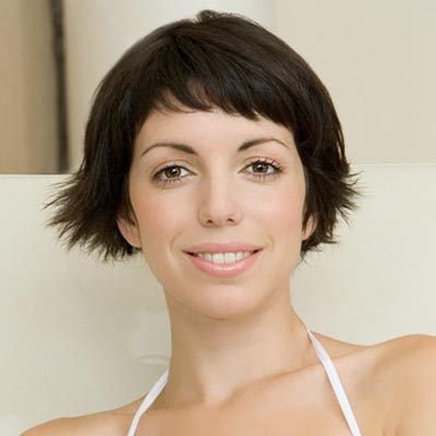 cute short hairstyle