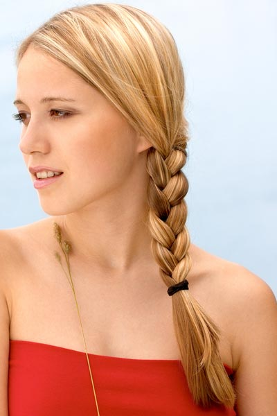 Excellent  Braid Into Side Ponytail  Cute Hairstyles  Cute Girls Hairstyles