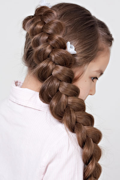 dutch diagonal side braid