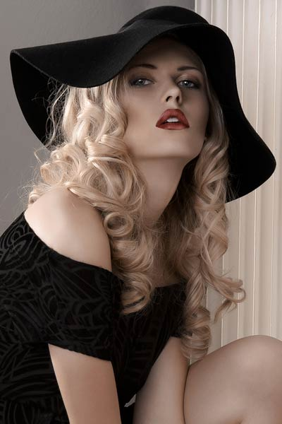 Hairstyles For Long Hair Under A Hat : Filed Under: Hair Down Hairstyles , Summer Hairstyles