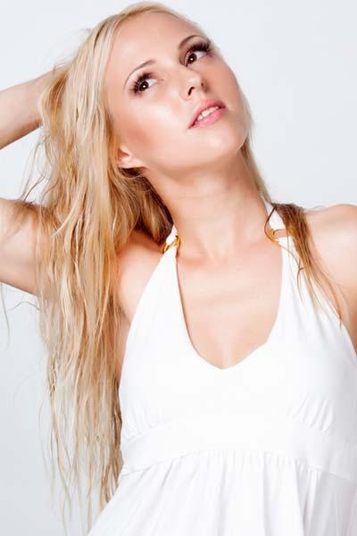 long thin fine hair