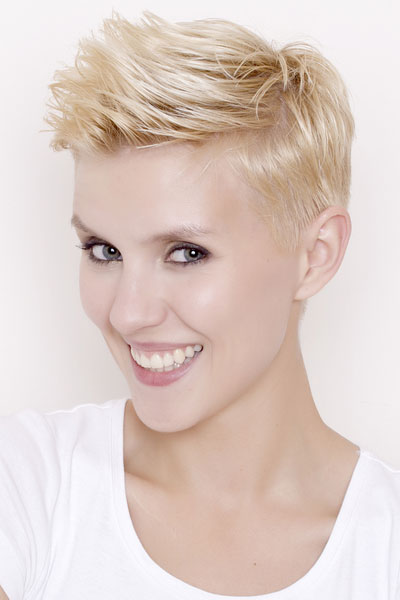 short quiff hairstyle