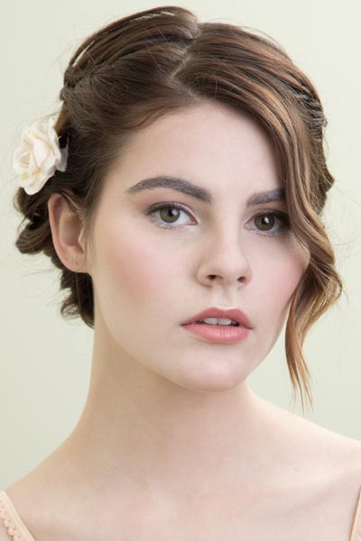 Wedding Hairstyles for Bob-Haired Brides
