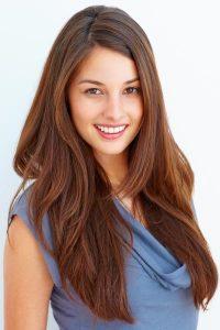 Long Angled Hair