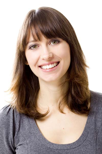 Shoulder-Length Hairstyles with Bangs