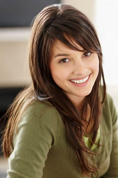 Layered Hairstyles with Bangs Long Hair