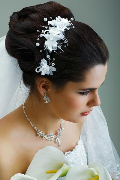 Hairstyles With Bridal Veil