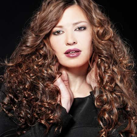 how to make big curly hair