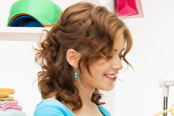 Cool Medium Length Curly Hairstyles Hairstyles For Women Draintrainus