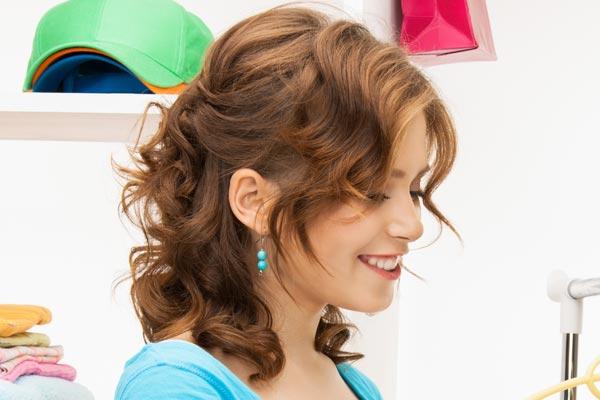 Swell Medium Length Curly Hairstyles Short Hairstyles Gunalazisus