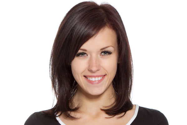 Medium layered hairstyles also add oomph to straight or fine hair that ...
