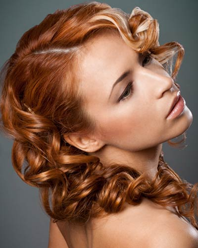 one side hairstyles