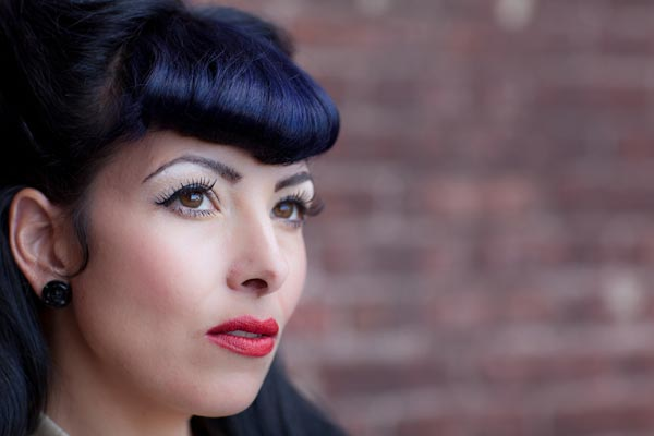 how to cut your own bettie bangs