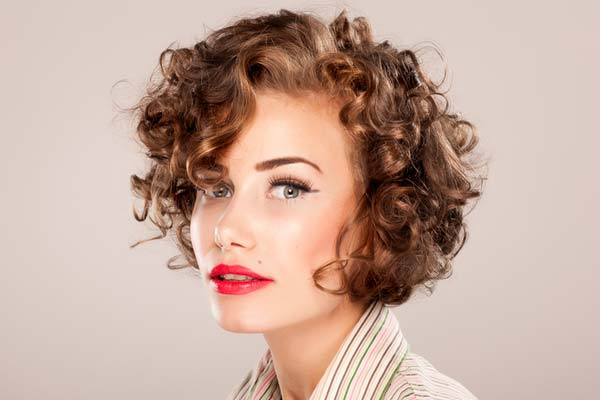 Hairstyles For Short Curly Hair Videos : Check out below for three cute hairstyles for short curly hair !