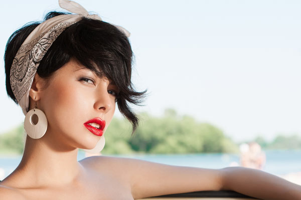 Vintage Hair Styles For Short Hair: Rockabilly Hairstyles