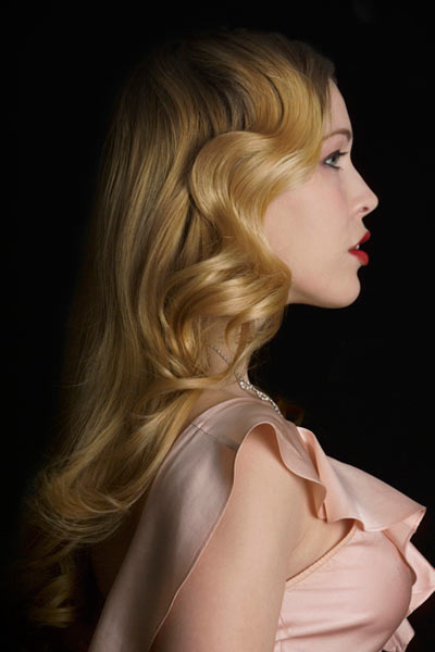 Fabulous Vintage Hairstyles Veronica Lake Curls Short Hairstyles For Black Women Fulllsitofus