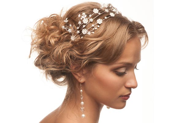 Excellent Wedding Hairstyles With A Headband Hairstyles For Women Draintrainus
