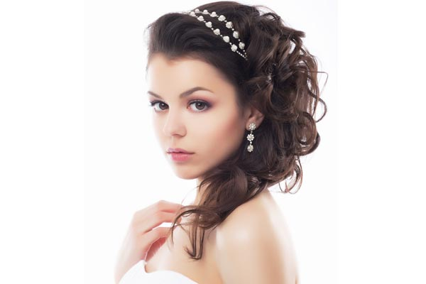 Weding Hairstyles With Headband