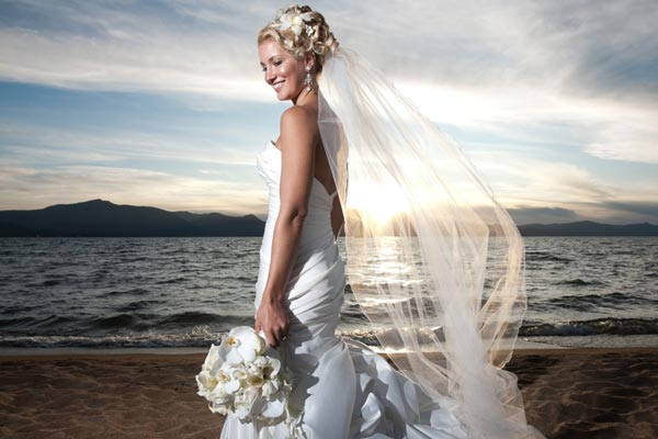 Beach Wedding Hairstyles With Veil