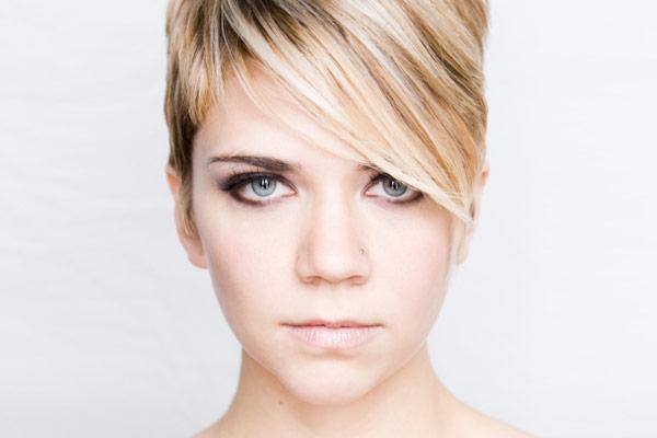 Short Haircut Side Bangs