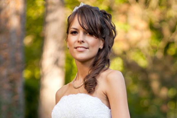 Wedding Side Ponytail Hairstyles
