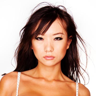 Best Bangs For Asian Hair - Asian hairstyle with bangs