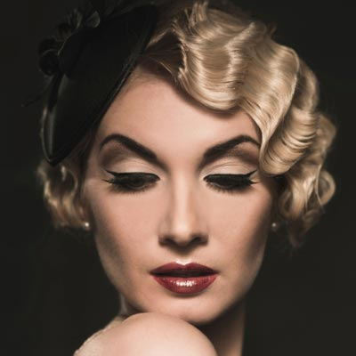 They Are Sultry Cly And Perfectly Vintage To Create Your Own Fler Inspired Look Try A Faux Bob With Finger Waves
