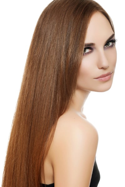 how to make hair look less thick