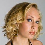 Curled Medium Hair 150x150